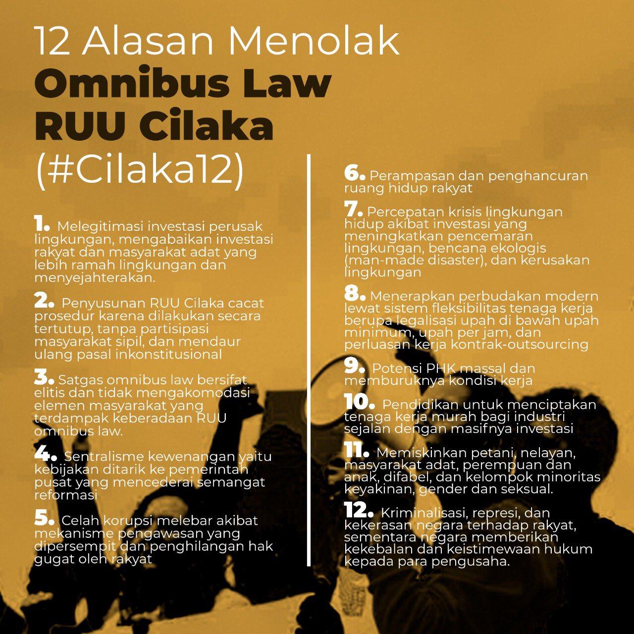 Walhi Dan Sp Lampung Gelar Diskusi Omnibus Law Petitum Id
