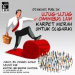 LBH Bandar Lampung Gelar Diskusi Omnibus Law