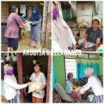 Relawan 69 dan Akubisa Kembali Distribusikan Sembako