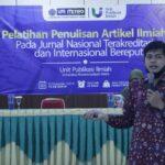 UPI UM Metro Gelar Pelatihan Penulisan Artikel Ilmiah Pada Jurnal Nasional Terakreditasi dan Internasional Bereputasi